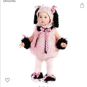 Pinkie The Poodle Dog Costume (lot b5)